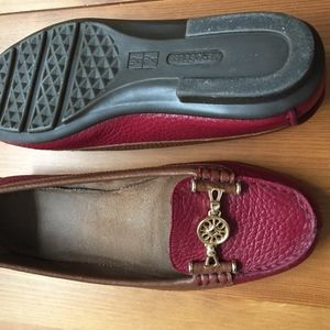 AEROSOLES Shoes - SOLD! AEROSOLES two tone leather loafers